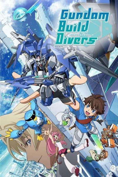 Gundam Build Divers กันดั้ม บิลด์ ไดฟ์เวอร์ส ตอนที่ 1-25 พากย์ไทย