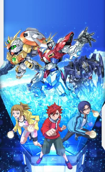 Gundam Build Fighters Try ตอนที่ 1-25+OVA พากย์ไทย