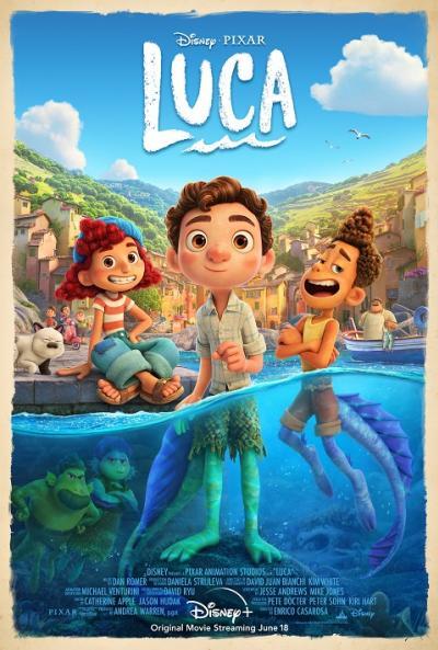Luca (2021) Disney+ ลูก้า ผจญภัยโลกมนุษย์ The Movie พากย์ไทย