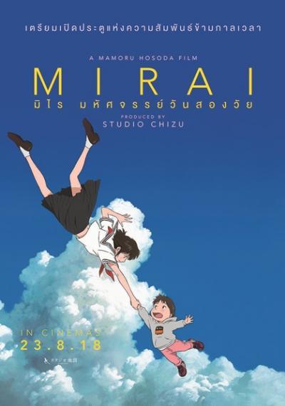 Mirai (2018) มิไร มหัศจรรย์วันสองวัย พากย์ไทย