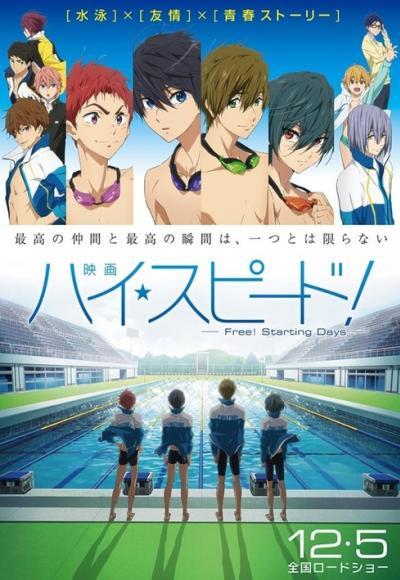 High Speed!: Free! Starting Days Movie ซับไทย