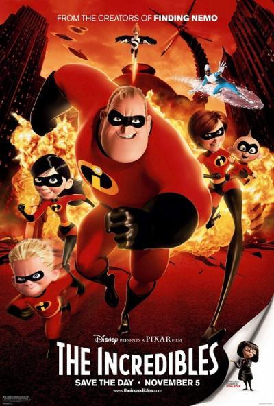 The Incredibles (2004) รวมเหล่ายอดคนพิทักษ์โลก พากย์ไทย