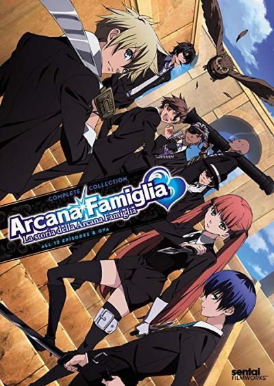 Arcana Famiglia มาเฟียมนตรา มือปราบกำราบหัวใจ ตอนที่ 1-13 พากย์ไทย